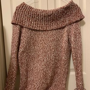 Off the shoulder Abercrombie sweater